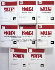 2016 GM Cadillac CTS Service Manual Complete 8 Volume Set