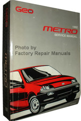 Geo 1992 Metro Service Manual
