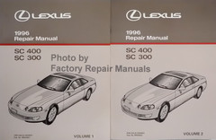 Lexus 1996 Repair Manual SC 400 SC 300