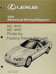 Lexus 1996 Electrical Wiring Diagrams SC 400 SC 300