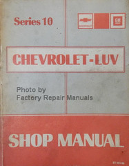 Series 10 Chevrolet Luv Shop Manual