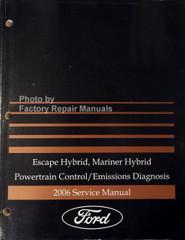 Escape Hybrid, Mariner Hybrid Powertrain Control/Emissions Diagnosis 2006 Service Manual