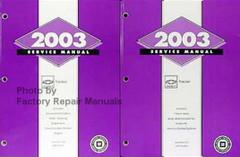 Chevrolet Tracker 2003 Service Manual