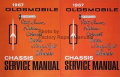 1967 Oldsmobile F-85, Vista Cruiser, Cutlass, Delmont, Delta, Ninety Eight, Toronado Chassis Service Manual