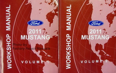 2011 Ford Mustang Workshop Manuals Volume 1, 2