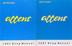 Accent 1997 Shop Manual Volume 1, 2