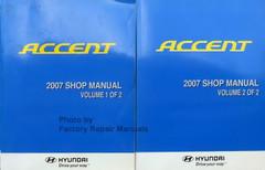 Accent 2007 Shop Manual Volume 1, 2