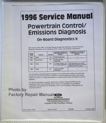 Powertrain Control/Emissions Diagnosis 1996 Service Manual Car/Truck On Board Diagnosics IIB
