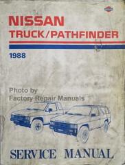 1988 Nissan Truck/Pathfinder Service Manual