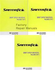2007 Hyundai Santa Fe Shop Manual Volume 1, 2, 3