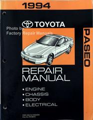 1994 Toyota Paseo Repair Manual