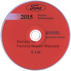 2015 Ford F150 Factory Wiring Diagrams Original Manual Factory Repair Manuals