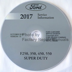Ford 2017 Service Information F250 F350 F450 F550 Super Duty