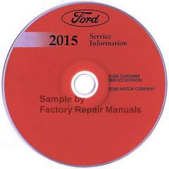 2015 Ford E-350 E-450 Service Information