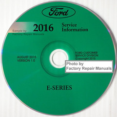 Ford 2016 Service Information E-Series