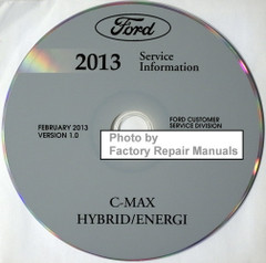2013 Ford C-Max Service Information