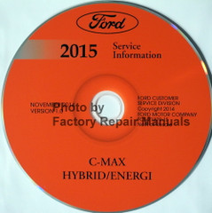 Ford C-Max 2015 Service Information