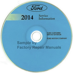 Ford 2014 Service Information Edge MKX