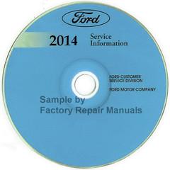 Ford 2014 Service Information Police Interceptor Utility