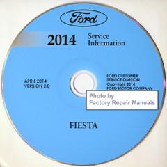 Ford 2014 Service Information Fiesta