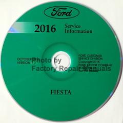 Ford Fiesta 2016 Service Information