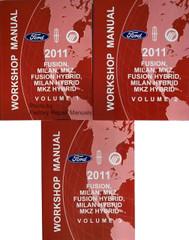2011 Ford Fusion, Mercury Milan, Lincoln MKZ Service Manuals