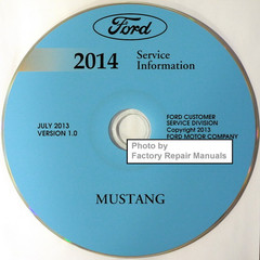 Ford 2014 Service Information Mustang