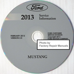 Ford 2013 Service Information Mustang