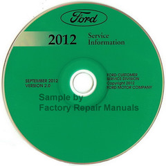 2012 Ford Mustang Service Information