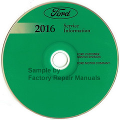 2016 Ford Transit Service Information