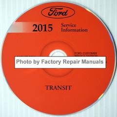 2015 Ford Transit Service Information