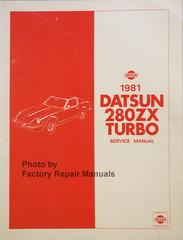 1981 Datsun 280ZX Turbo Service Manual