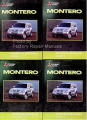 Mitsubishi Motors Montero 2003 Service Manual Volume 1, 2, 3, 4