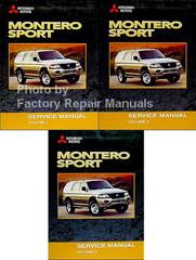 Mitsubishi Motors Montero Sport Service Manual Volume 1, 2, 3