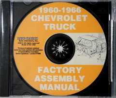 1960-1966 Chevy and GMC Truck Assembly Instruction Manual