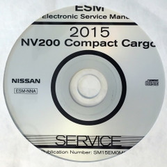 2015 Nissan NV200 Compact Cargo Van ESM Electronic Service Information