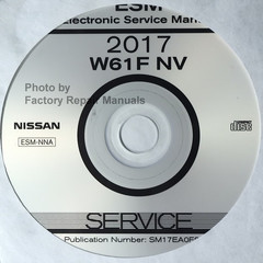 2017 Nissan  NV 1500 2500 3500 Van Electronic Service Manual ESM