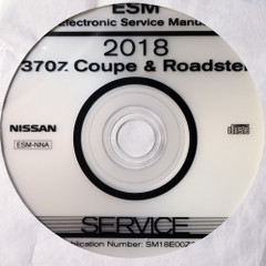 2018 Nissan 370Z ESM Electonic Service Manual