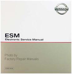 2017 Nissan Murano Electronic Service Manual CD-ROM