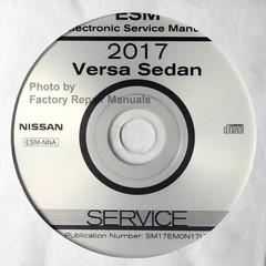 2017 Nissan Versa Sedan ESM Electronic Service Manual