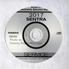 2017 Nissan Sentra ESM Electronic Service Manual