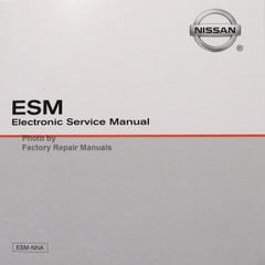 2017 Nissan Frontier Factory Service Manual CD-ROM Original