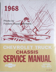 1968 Chevrolet Truck Chassis Service Manual Series 10-60