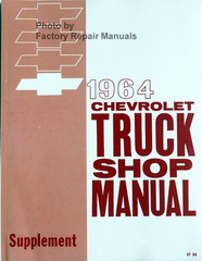 1964 Chevrolet Truck Shop Manual Supplement