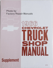1966 Chevrolet Truck Shop Manual Supplement