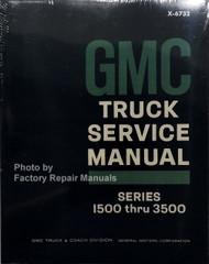 1967 GMC Truck Service Manual Series 1500 thru 3500
