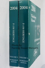 2004 Ford F150 Heritage Workshop Manual Volume 1, 2