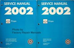 2002 Chevrolet Prizm Service Manual Volume 1, 2