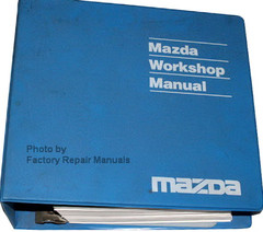 2000 Mazda B-Series Truck Factory Workshop Manual