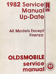 1982 Service Manual Up-Date Oldsmobile Service Manual